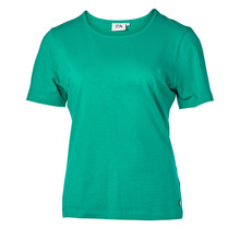 Dames shirt basic Groen korte mouw