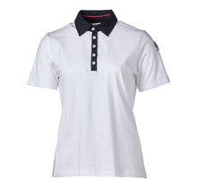 Dames polo Wit