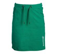 Meisjes rok tricot groen blossom