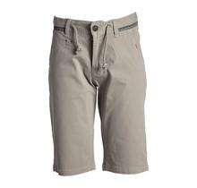 Jongens korte broek grijs met detail