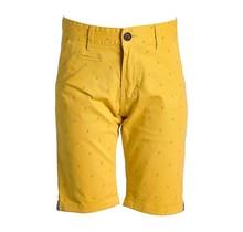 Jongens korte broek geel met ankers