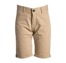 Jongens korte broek beige met ankers