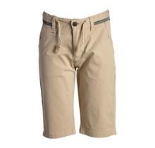 Jongens korte broek beige met detail