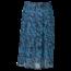 Remo Fashion Dames plisse zebra blauw kort