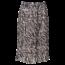 Remo Fashion Dames plisse zebra creme kort