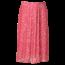 Remo Fashion Dames plisse stippen roze kort