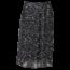 Remo Fashion Dames plisse stippen zwart kort