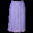 Remo Fashion Dames plisse stippen lila kort