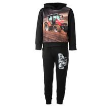 Jongens tractor set zwart