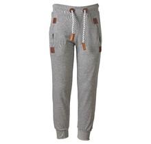 Jongens lange broek grijs