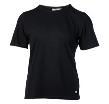 Dames shirt basic picot zwart