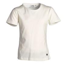 Meisjes basic shirt offwhite