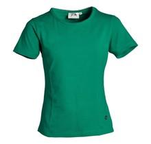 Meisjes basic shirt Groen