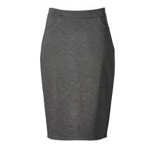 dames stretch rok in grijs