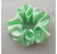 Scrunchie satijn look mint groen