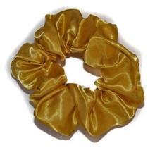 Scrunchie satijn look  goud
