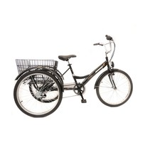 Umit Driewieler Senioren 24 inch Zwart 100% RIJKLAAR GELEVERD Nieuw