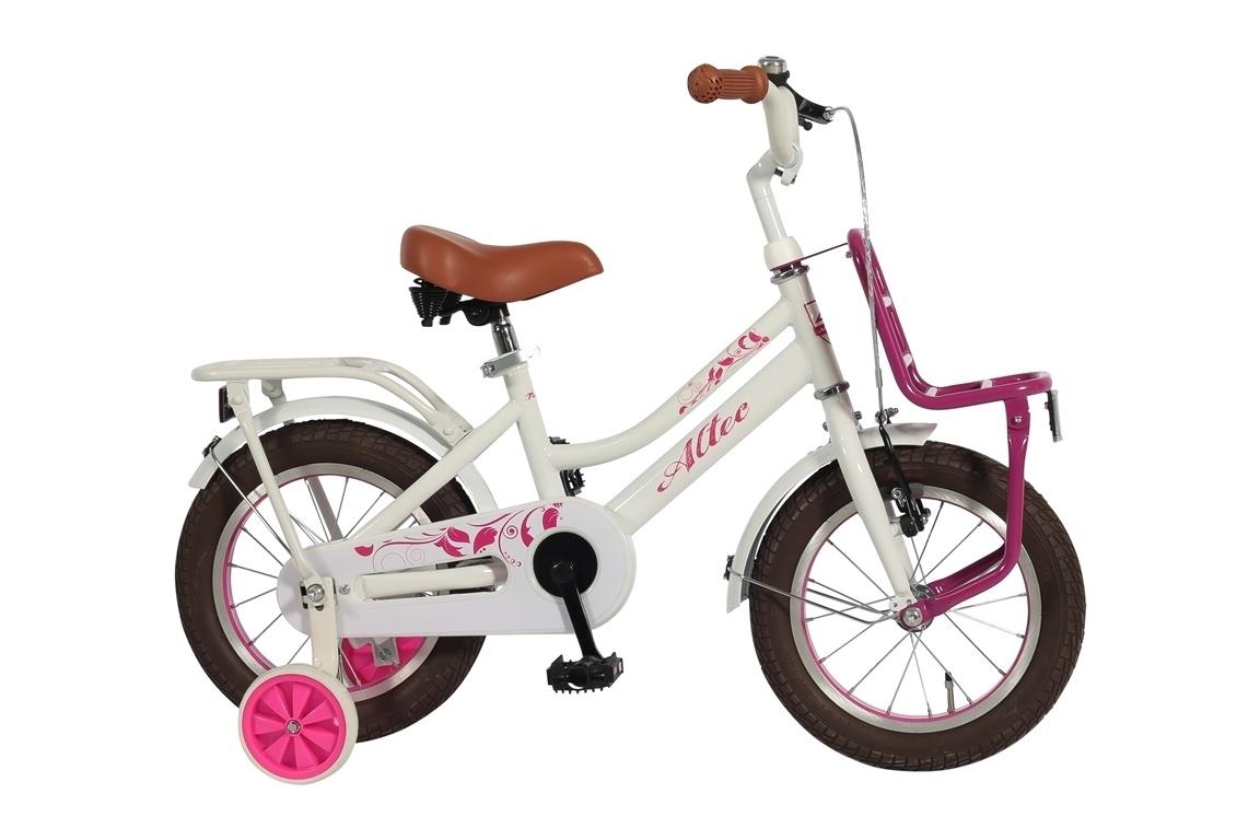 Altec Altec Tuana 14 inch Roze meisjesfiets  *** Actie Uitverkoop Laagste prijs Garantie ***