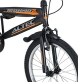 Altec Altec Super Bomber 20inch Jongensfiets Zwart-Oranje 2020  Nieuw