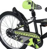 Altec Altec Super Bomber 20inch Jongensfiets Zwart-Groen 2020  Nieuw