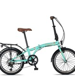 Altec Umit Cunda Vouwfiets 20inch 6-speed Turquoise nieuw