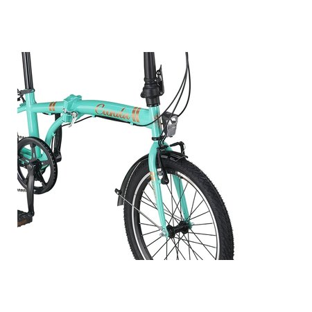 Altec Umit Cunda Vouwfiets 20inch 6v Turquoise