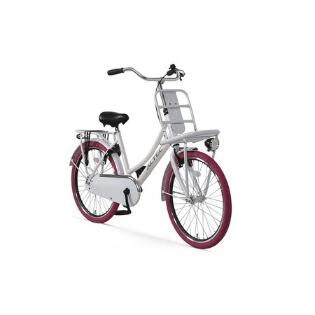 Altec Altec Urban Transportfiets 22 inch Wit