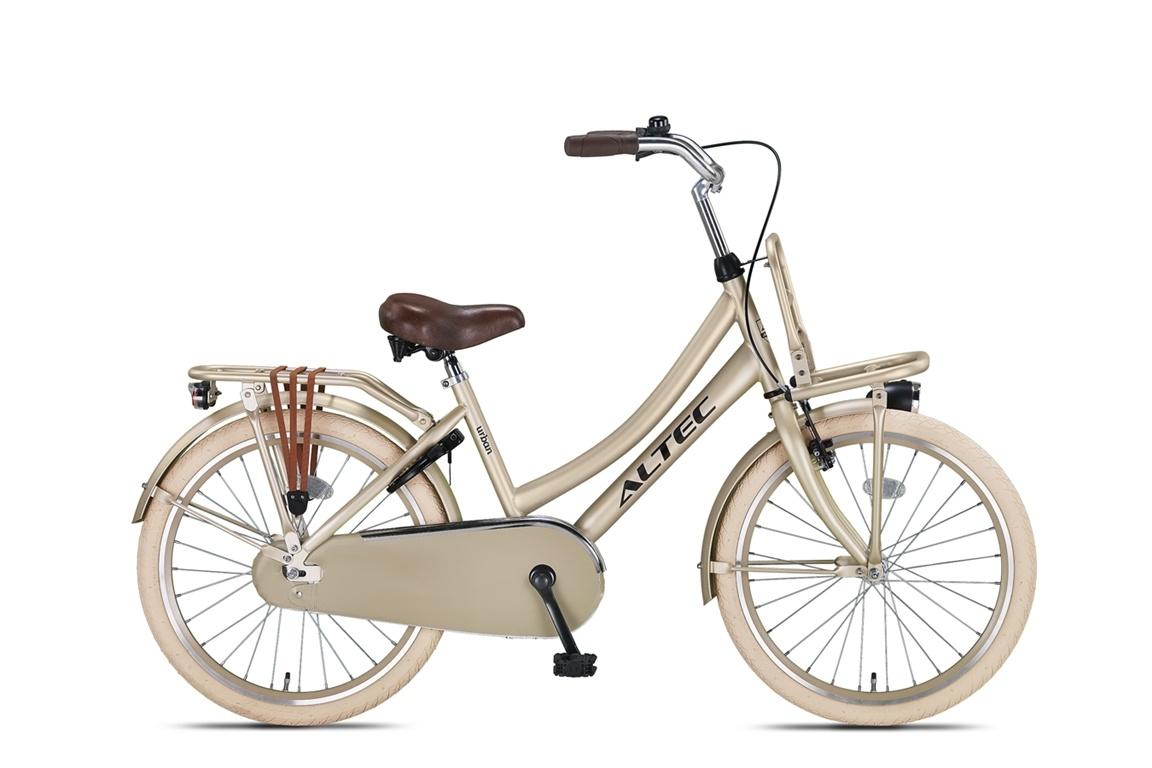 Altec Altec Urban Transportfiets 22 inch Goud
