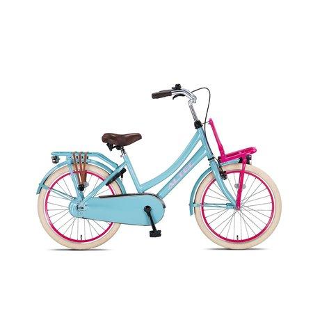 Altec Altec Urban Transportfiets 22 inch Blauw-Roze