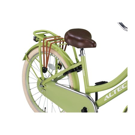 Altec Altec Urban Transportfiets 22inch Olijf Groen