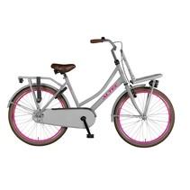 Altec Urban Transportfiets 24 inch Grijs-Roze