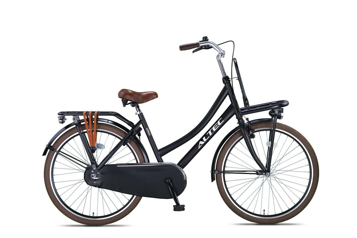 Altec Altec Urban Transportfiets 26 inch Zwart