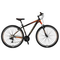 Mosso Wildfire 29 inch 18'' MTB V-Brakes Limited Edition Black/Orange Nieuw RRR