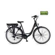 Altec Jade E-Bike 518Wh 7-sp Zwart 2020 Nieuw
