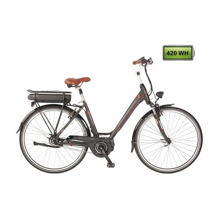 Altec Mosso E bike Shimano Steps 420Wh N-8 Zwart-Rood *** ACTIE PRIJSVERLAGING***