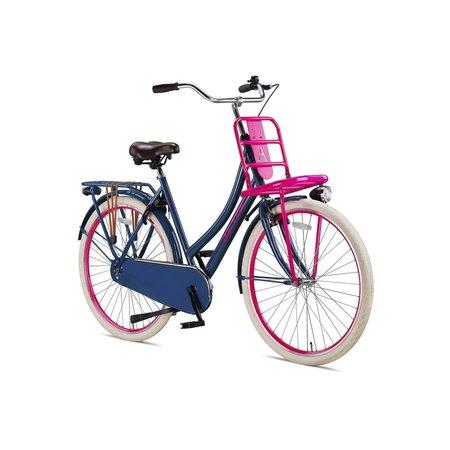 Altec Altec Urban Transportfiets 28inch 50cm Grijs/Roze