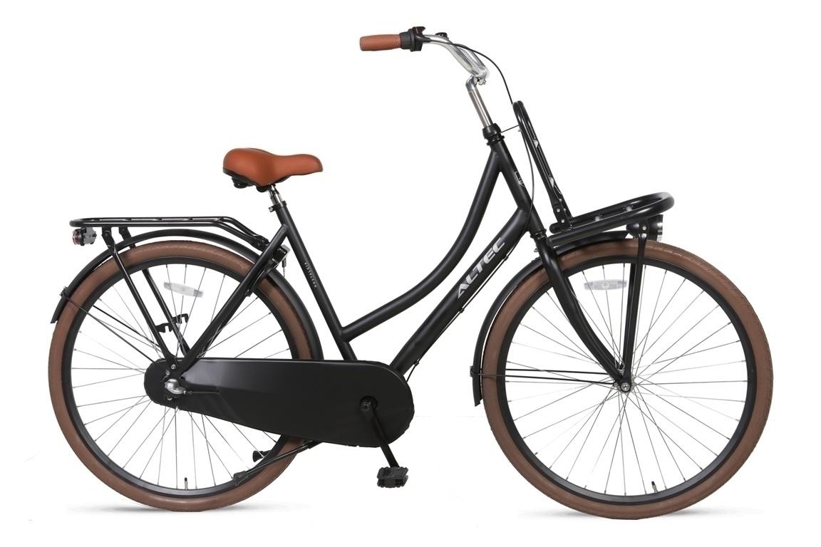 Altec Altec Nostalgia Transportfiets 28inch 55cm 3v Zwart