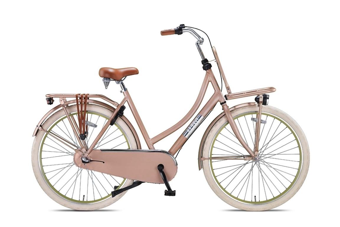 Altec Altec Vintage Transportfiets 28 inch 57cm 3v Roze