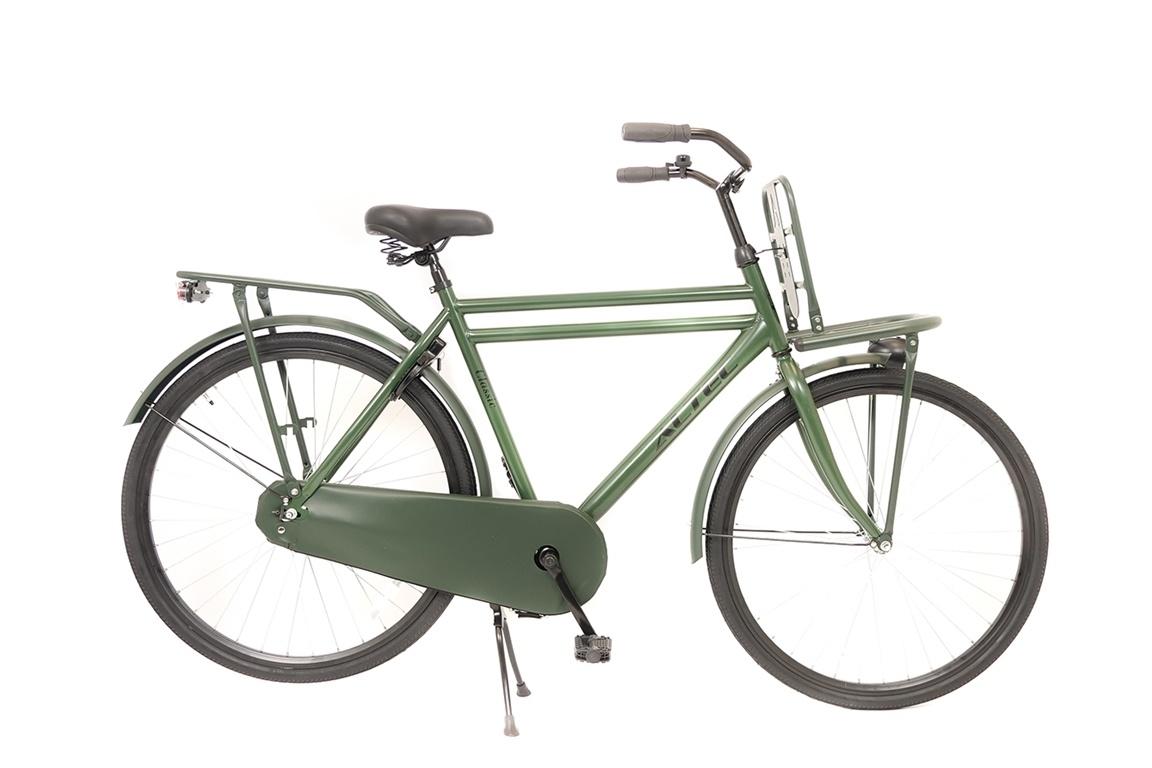 Altec Altec Classic Transportfiets 28 inch 58 cm Olijf Groen