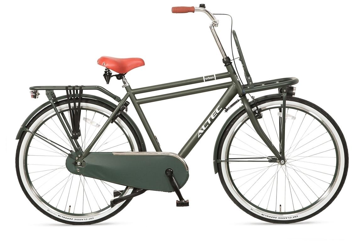 Altec Altec Urban Transportfiets 28 inch 55 cm Army Green