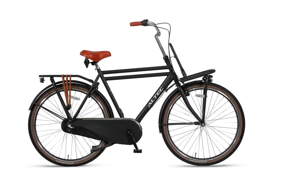 Altec Altec Dutch Transportfiets 28 inch 55 cm 3v Zwart