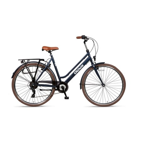 Altec Crown New York Damesfiets 28 inch 49cm 7V Jeans Blue