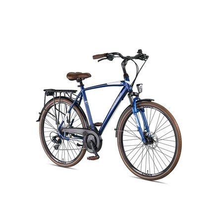 Umit Umit Ventura Herenfiets 28 inch 56cm 21v Blauw-Wit