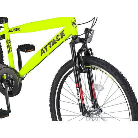 Altec Outlet Altec Attack Jongensfiets 26 inch 3v Geel