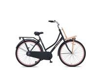 Outlet Altec Classic Transportfiets 28 inch Zwart-Roze