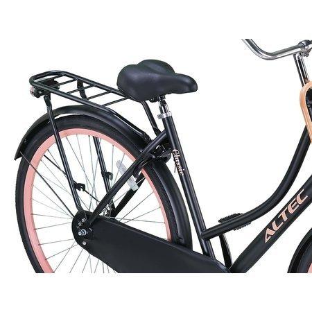 Altec Outlet Altec Classic Transportfiets 28 inch Zwart-Roze