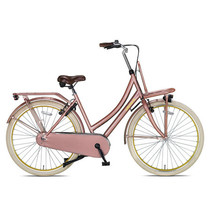 B-KEUZE Crown Paris Transportfiets 28 inch Love Rose