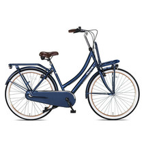 Outlet Crown Istanbul Transportfiets 28 inch 53cm 3v Jeans Blue