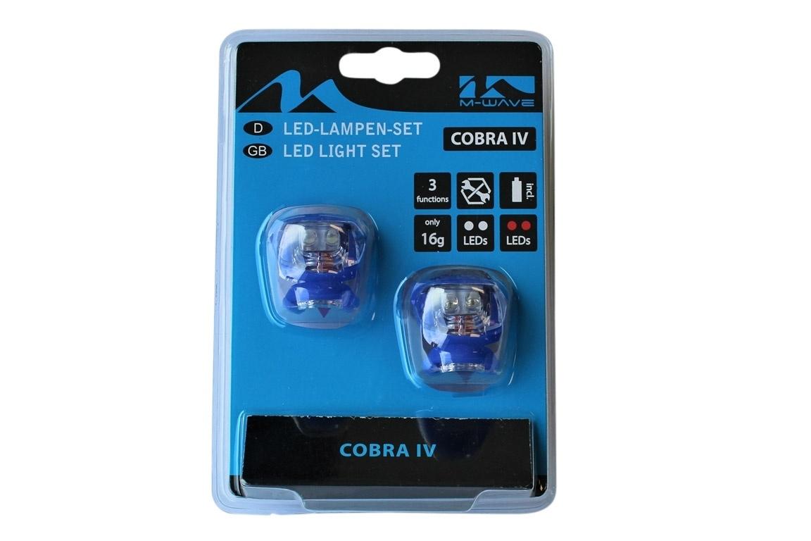 Altec Fietsverlichting set Led Cobra Blauw