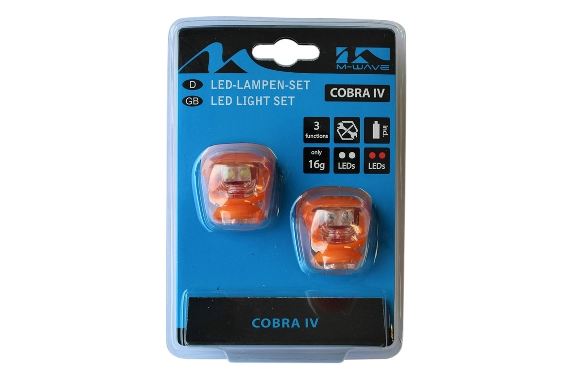 Altec Fietsverlichting set Led Cobra Oranje